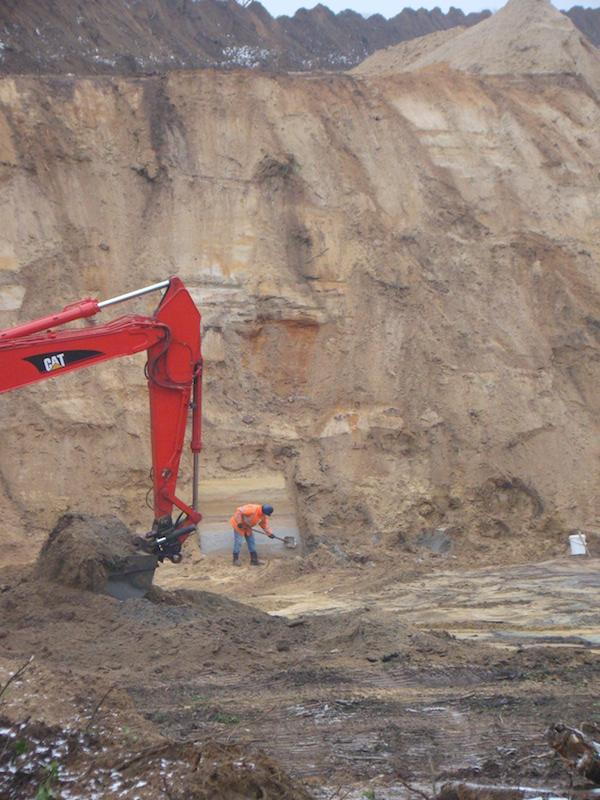 Archeologische Begeleiding A74 Tegelen 2011