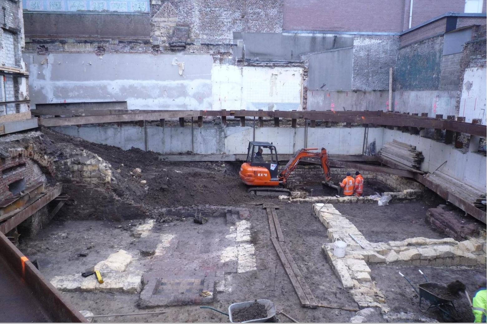 Archeologische Opgraving Opgravingsput Grote Staat Maastricht