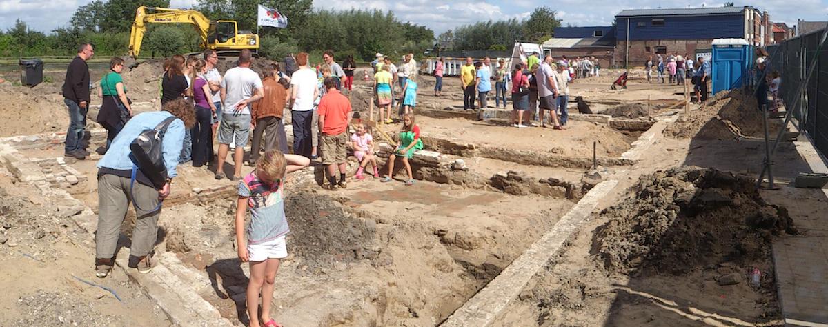 archeologisch onderzoek: open-dag Meerkerk